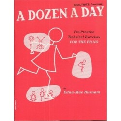 a dozen a day vol 3-burnam-piano