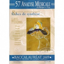 analyse musicale bac 2009