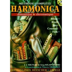 methode complete harmonica +cd
